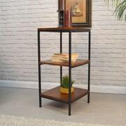 Gracie Oaks Thurmont 30'' Etagere Bookcase