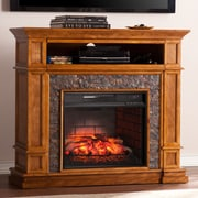 Alcott Hill Cargile Simulated Media Center Infrared Electric Fireplace
