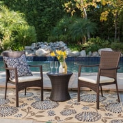 Varick Gallery Ault 3 Piece Outdoor Chat Set