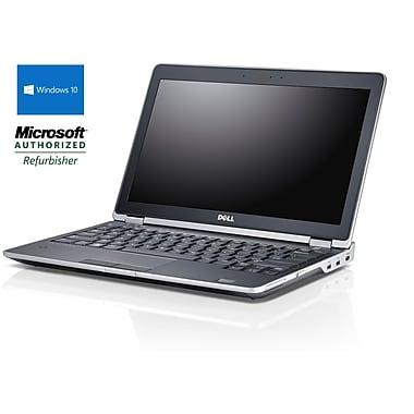 Dell - Portatif Latitude E6230 12,5 po remis à neuf, 2,6 GHz Intel Core i5-3320M, 240 Go SSD, 16 Go DDR3, Windows 10 Pro