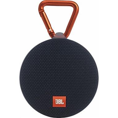 JBL Clip 2 Portable Bluetooth Waterproof Speaker, Black