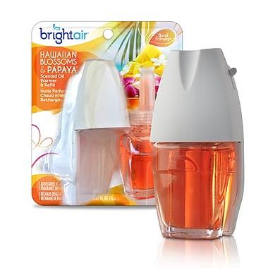 Bright Air – Recharge pour purificateur d'air chaud parfumé électrique, fleurs hawaïennes et papaye, 8/paquet