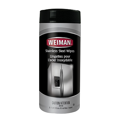 Weimen Stainless Steel Wipes, 6/Pack
