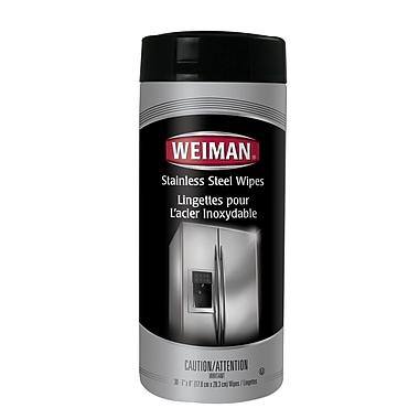Weiman – Lingettes pour acier inoxydable, 6/paquet