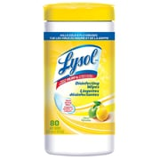Lysol Disinfectant Wipes, Citrus, 80ct, 6/Pack