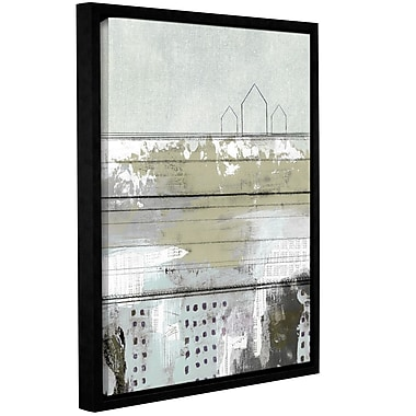 Varick Gallery 'The Farm' Framed Painting Print on Wrapped Canvas; 18'' H x 14'' W x 2'' D