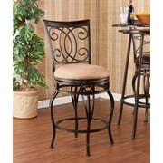 Fleur De Lis Living Leann 25.25'' Swivel Bar Stool