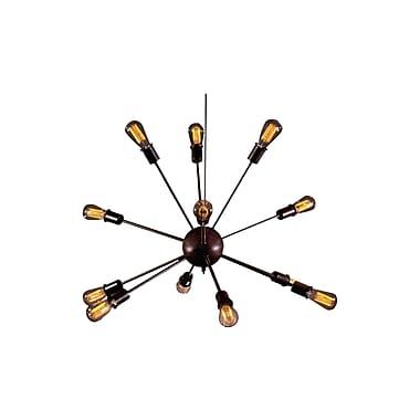 Corrigan Studio Candice 12-Light Sputnik Chandelier