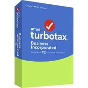 TurboTax® – Business Incorporated 2016, anglais