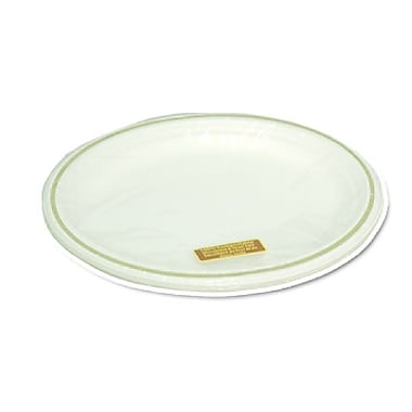 Eco Guardian Compostable Printed Rim Oval Plates, Retail Packaging, 12.5