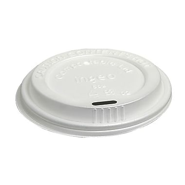 Eco Guardian - Couvercle compostable pour tasses de 8 oz, paq./1000 (EG-P-CPLA-K08-LID)