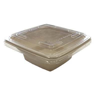 Eco Guardian Compostable Bamboo Square Bowls, 16 oz, 300/Pack (EG-S118-R1)