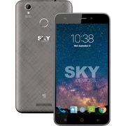 "Sky Devices Elite 5.5"" Unlocked Cell Phone, 1.3 GHz Octa Core, 16 GB, Grey (8511090075573)"