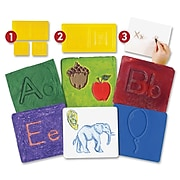 Roylco Letter Construction Activity Set, Theme/Subject: Learning, Skill Learning: Letter, Illustration, 54 Pieces, 4+