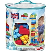 Mega Bloks First Builders Big Building Bag, 80-Piece