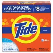Tide Powder Laundry Detergent, Concentrate Powder, 95 oz (5.94 lb), Original Scent, 3/Carton, Orange (PGC84997CT)