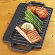 Universal Housewares Pre-Seasoned Reversible Grill Pan and Griddle