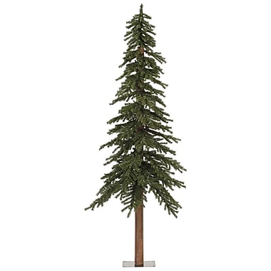 Vickerman 7' Natural Alpine Green Artificial Christmas Tree