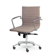 Winport Industries Winport Desk Chair; Stone Gray