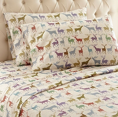 Shavel Micro Flannel Sheet Set; Twin