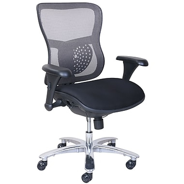 La Z Boy Akton Big Tall Mesh Chair Black Staples