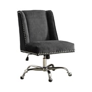 Draper Chrome Base Office Chair