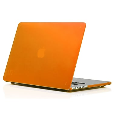 Uncommon – Étui givré Deflector pour MacBook Pro de 15 po, orange (US15MB4089)