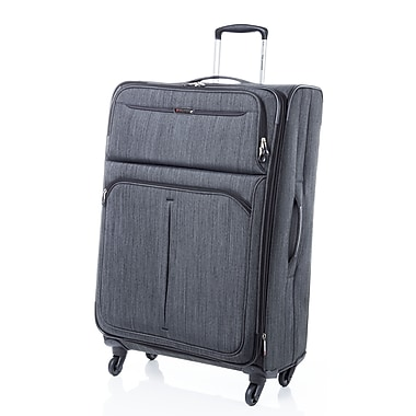 Ricardo Beverly Hills - Valise expansible Santa Monica Peerless 28 po, roues multidirectionelles, charbon