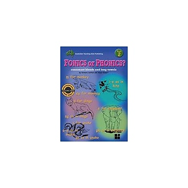 Australian Teaching Aids Publishing Fonics Or Phonics? Book 2 Workbook By Carlo Lai, Grade 2 - Grade 3 [eBook]