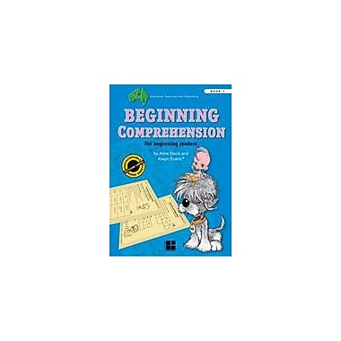 Australian Teaching Aids Publishing Beginning Comprehension Book 1 Workbook By Davila-Martinez, Diana, Grade 1 [eBook]