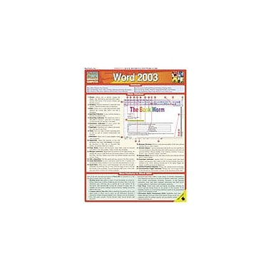 Barcharts Publishing Word 2003 Workbook By Hales, John, Grade 7 - Grade 12 [eBook]