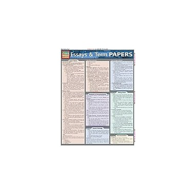 Barcharts Publishing Essays And Term Papers Workbook By Berner, Steve, Grade 8 - Grade 12 [eBook]