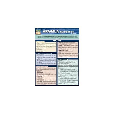 Barcharts Publishing APA/MLA Guidelines Workbook By Smith, Thomas, Grade 7 - Grade 12 [eBook]