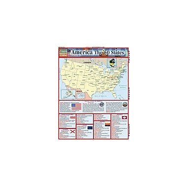 Barcharts Publishing America: 50 States Workbook, Grade 4 - Grade 8 [eBook]
