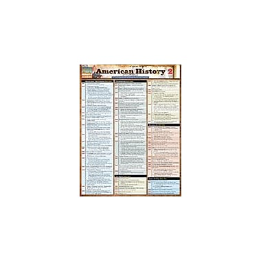 Barcharts Publishing American History 2 Workbook By Berner, Steve, Grade 7 - Grade 12 [eBook]