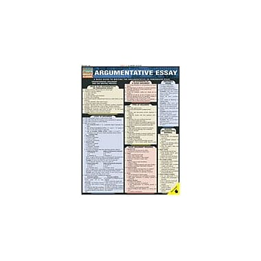 Barcharts Publishing Argumentative Essay Workbook By Mayhall, C. Wayne, Grade 7 - Grade 12 [eBook]