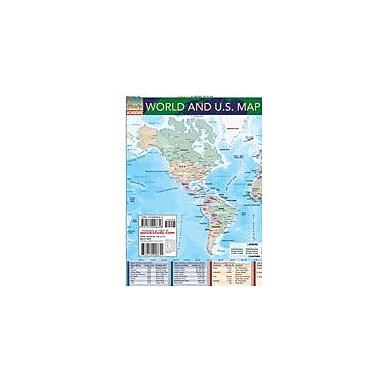 Barcharts Publishing World And U.S. Map Workbook, Grade 7 - Grade 12 [eBook]