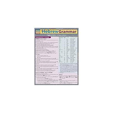 Barcharts Publishing Hebrew Grammar Workbook By Levi, Joseph, Grade 8 - Grade 12 [eBook]