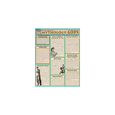 Barcharts Publishing Mythology: Greek/Roman Gods Workbook By Berner, Steve, Grade 8 - Grade 12 [eBook]
