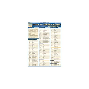 Barcharts Publishing Medical Abbreviations Workbook, Grade 12 [eBook]