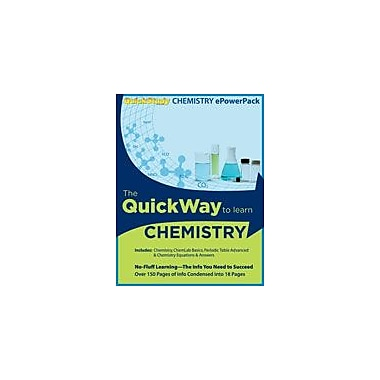 Barcharts Publishing Chemistry Epowerpack Workbook By Jackson, Mark, Grade 9 - Grade 12 [eBook]
