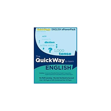 Barcharts Publishing English Epowerpack Workbook, Grade 8 - Grade 12 [eBook]