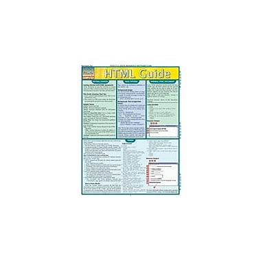 Barcharts Publishing HTML Guide Workbook By Scott, Marino, Grade 8 - Grade 12 [eBook]