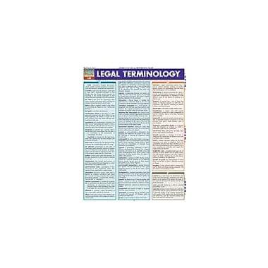 Barcharts Publishing Legal Terminology Workbook, Grade 12 [eBook]