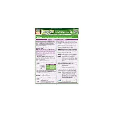 Barcharts Publishing English Fundamentals 3 Workbook, Grade 6 - Grade 8 [eBook]