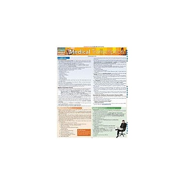Barcharts Publishing Medical Transcription Workbook, Grade 12 [eBook]