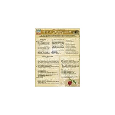 Barcharts Publishing Bible Characters - Old Testament Workbook By Smith, Thomas, Grade 8 - Grade 12 [eBook]