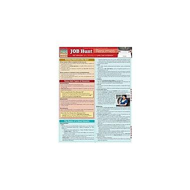 Barcharts Publishing Job Hunt: Resumes Workbook By Avis, Ed, Grade 10 - Grade 12 [eBook]