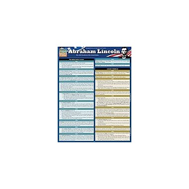 Barcharts Publishing Abraham Lincoln Workbook By Northeast Editing, Grade 10 - Grade 12 [eBook]