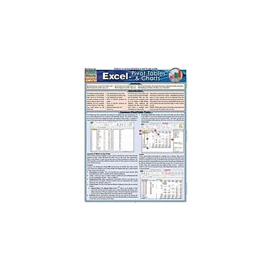 Barcharts Publishing Excel: Pivot Tables & Charts Workbook By Armstrong, Linda, Grade 9 - Grade 12 [eBook]